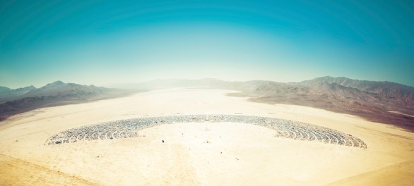 Burning Man From Above-XL